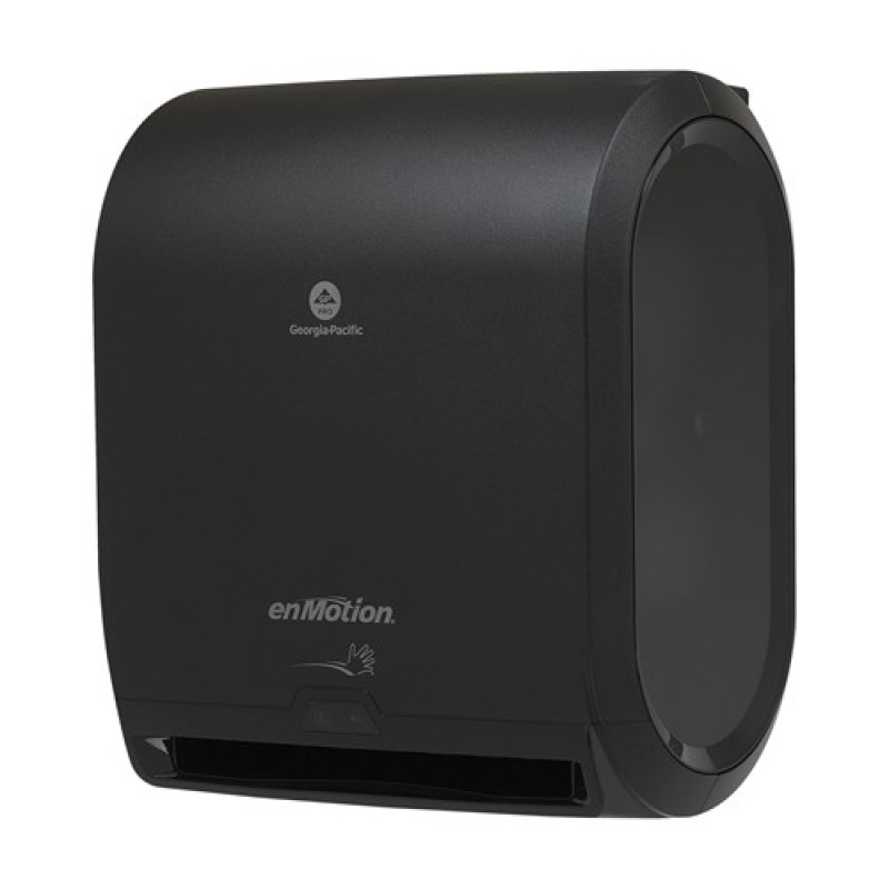 Touchless Towel Dispenser ~ Georgia pacific pro enmotion black automated