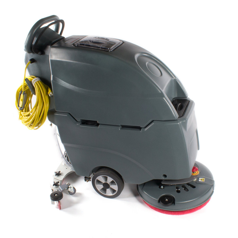 Cleanhound 18 Electric Automatic Floor Scrubber W Pad Holder