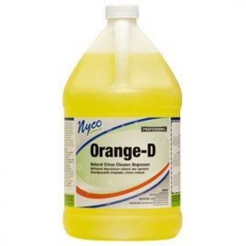 Nyco 174 Orange D Natural Citrus Degreaser Cleaner 4 Gallons