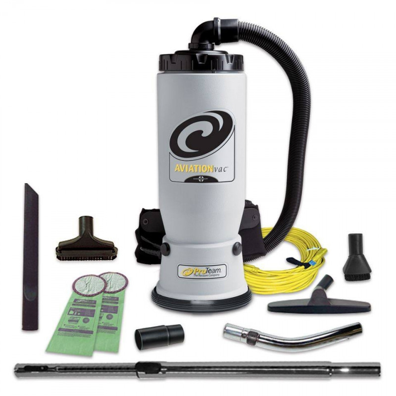 ProTeamR AviationVac Backpack Vacuum Cleaner