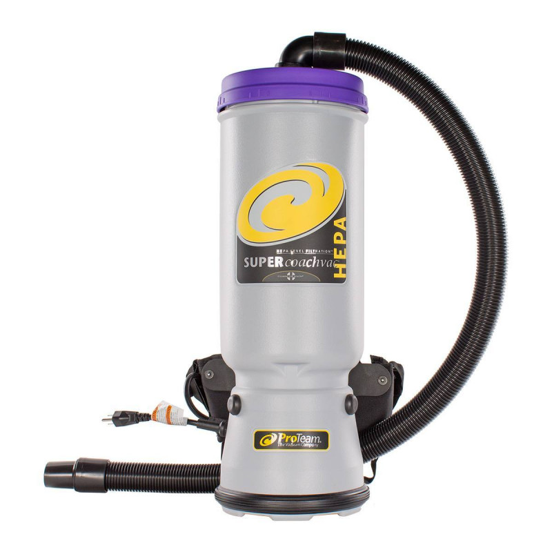 Proteam Super Coach Backpack Vacuum Used