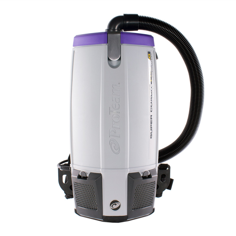 ProTeamR Super Coach Pro 10 HEPA Filtered Backpack Vacuum