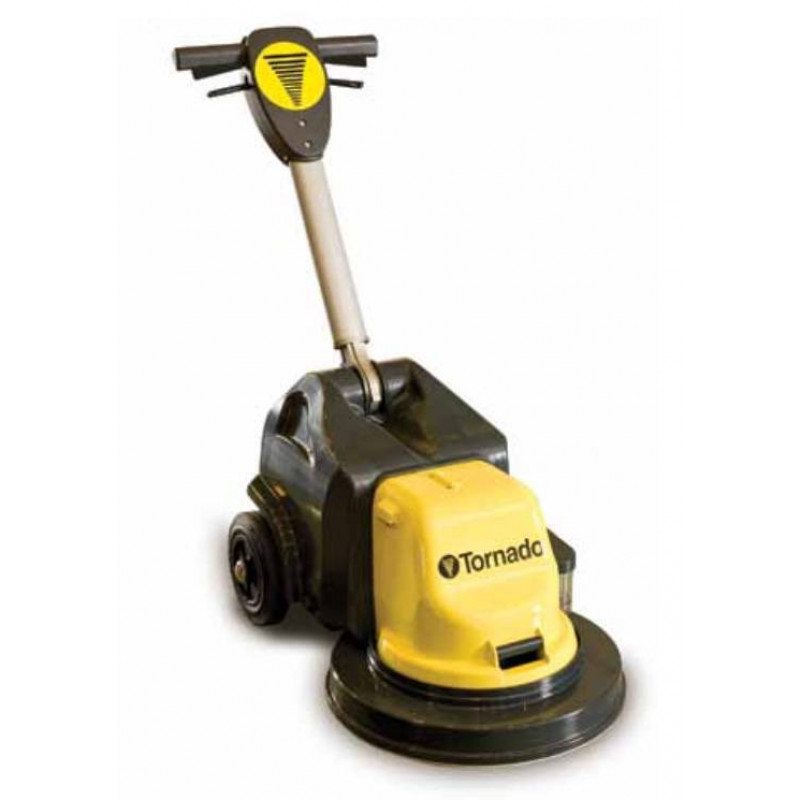 This is a review for the Tornado® Glazer 17 High-Speed Battery Burnisher.