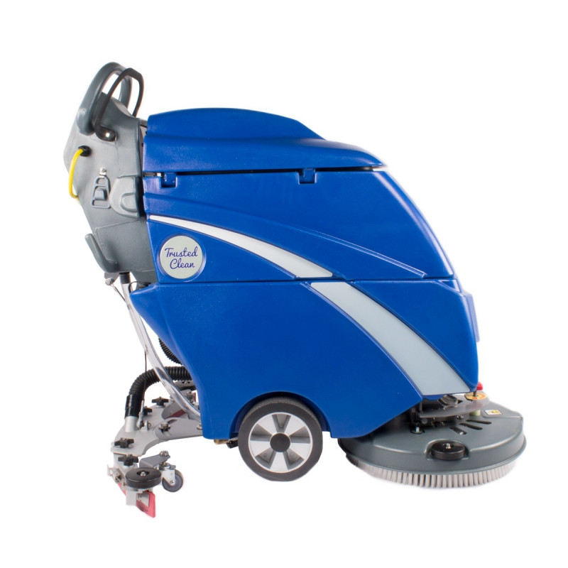 Trusted Clean 'Dura 18HD' Cord Electric Automatic Floor Scrubber w/ Brush