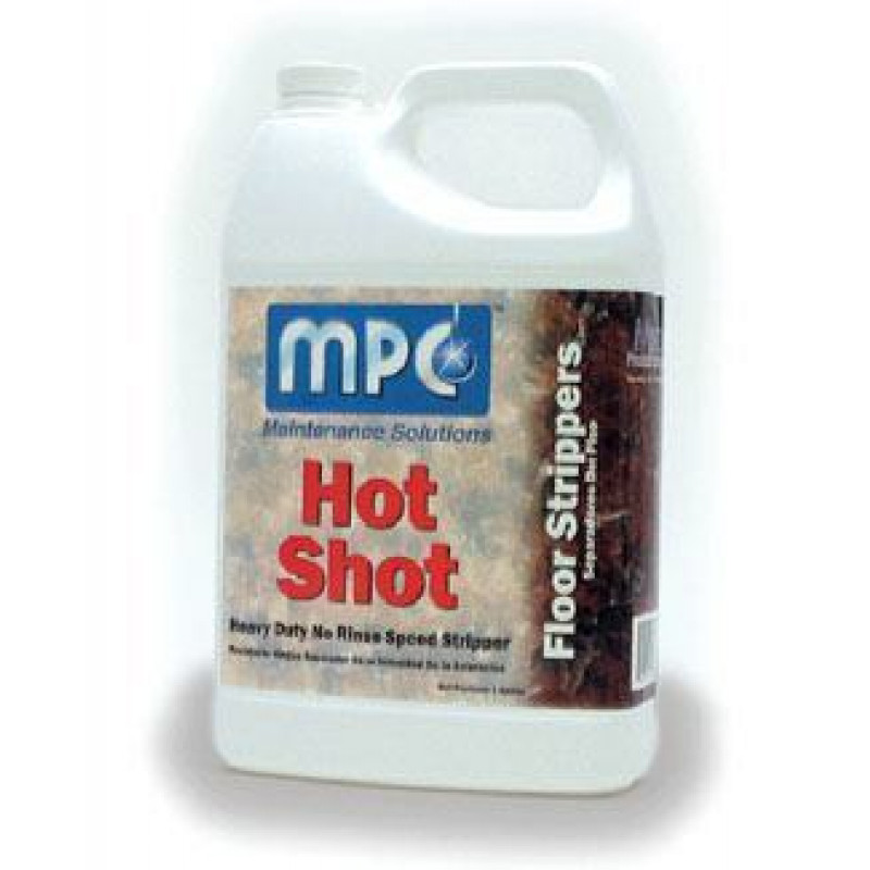 Misco Mpc Hot Shot Vct Tile Floor Stripping Chemical 4 Gallons Per