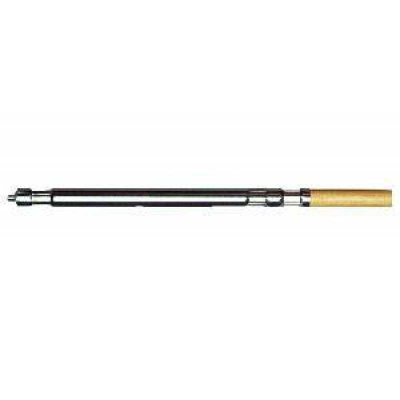 One Piece Wood Amp Steel Push Broom Handle