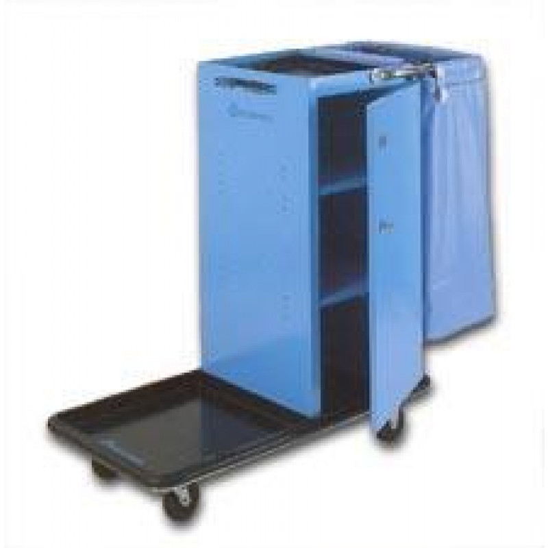 Housekeeping Cart W Locking Door