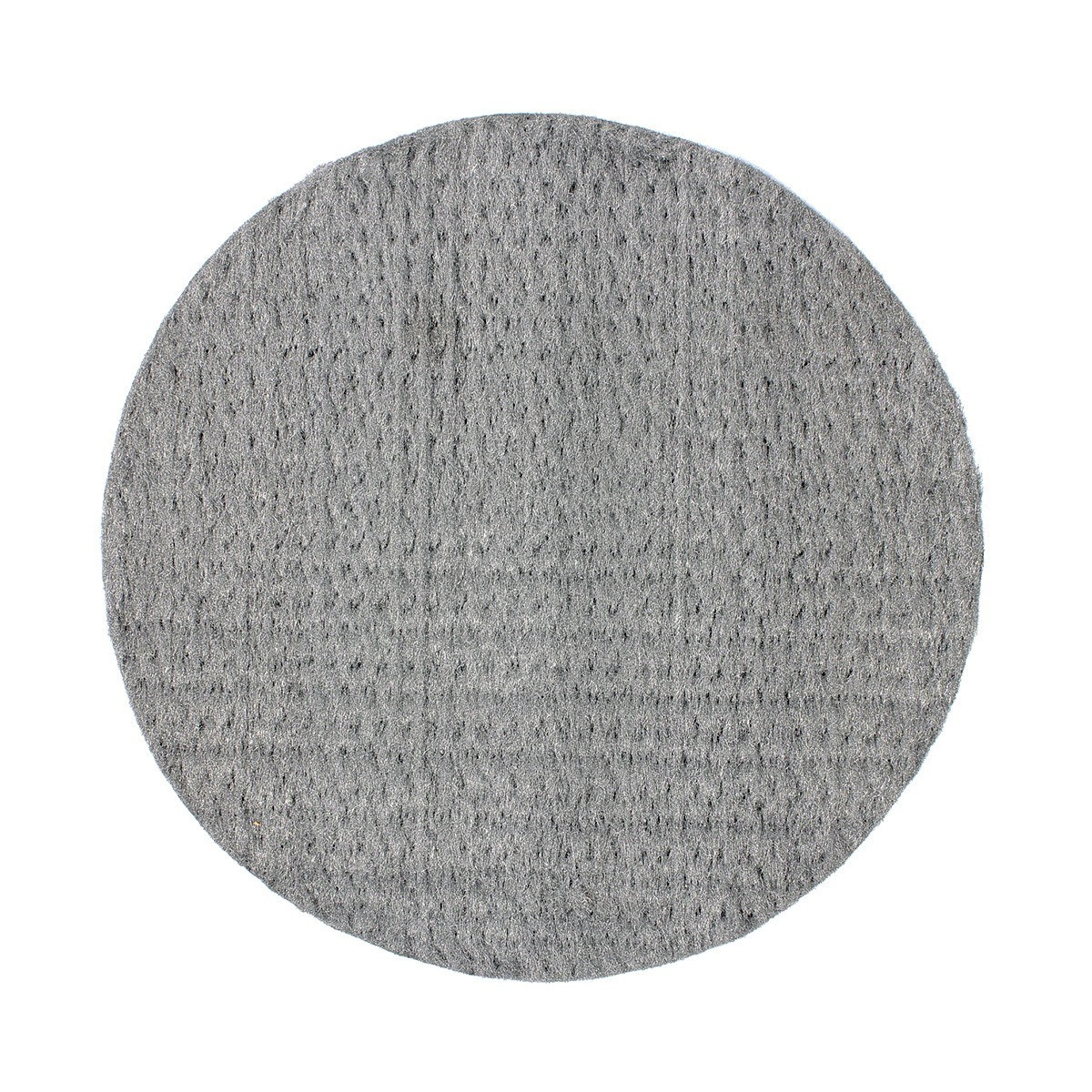 "0000 Stainless Steel Wool Pads: 20"" Texsteel Pressed Steel Wool Floor Pads (Case Of 12"