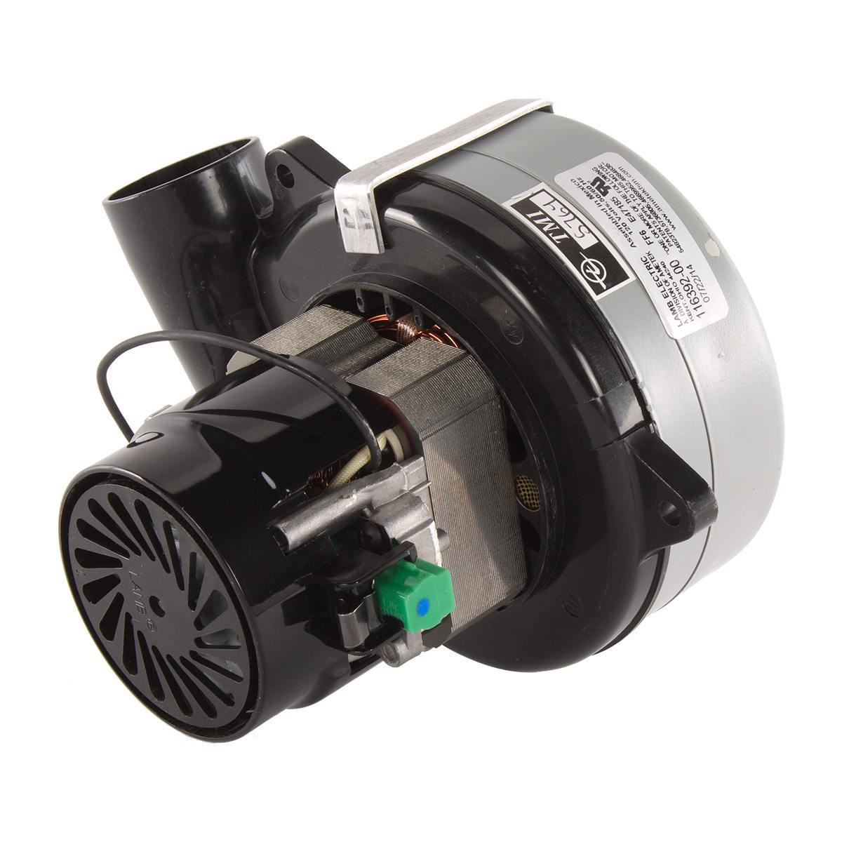 Ametek 2 Stage Vacuum Motor 11639200 Cc With Metal Adapter