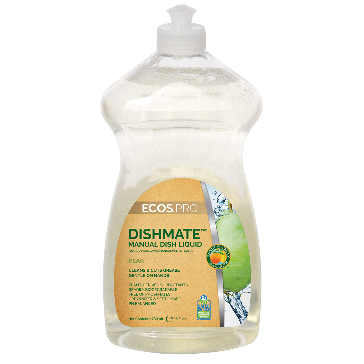 Earth Friendly Products Ecos Pro Dishmate Pear Liquid