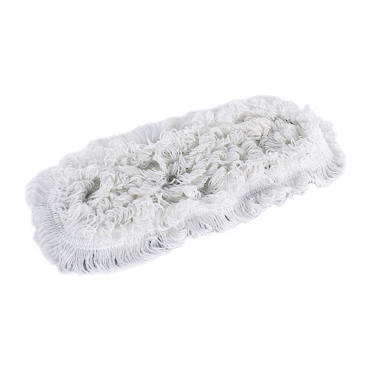 24 Quot Floor Finish Flat Wax Applicator Mop White With