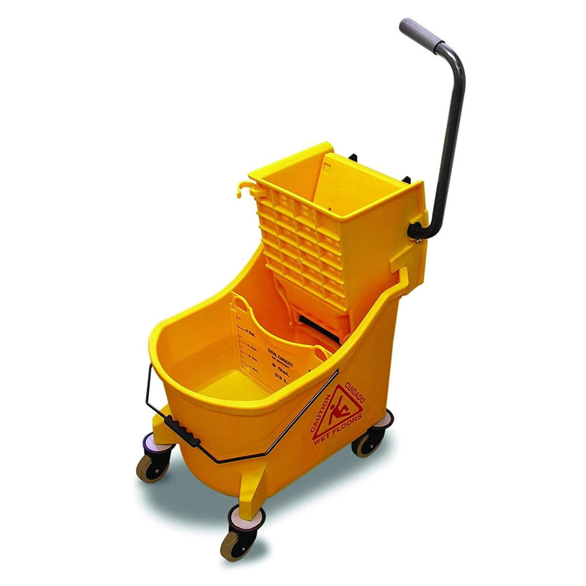 O Cedar Maxiplus 174 96978 Side Press Yellow Mop Bucket