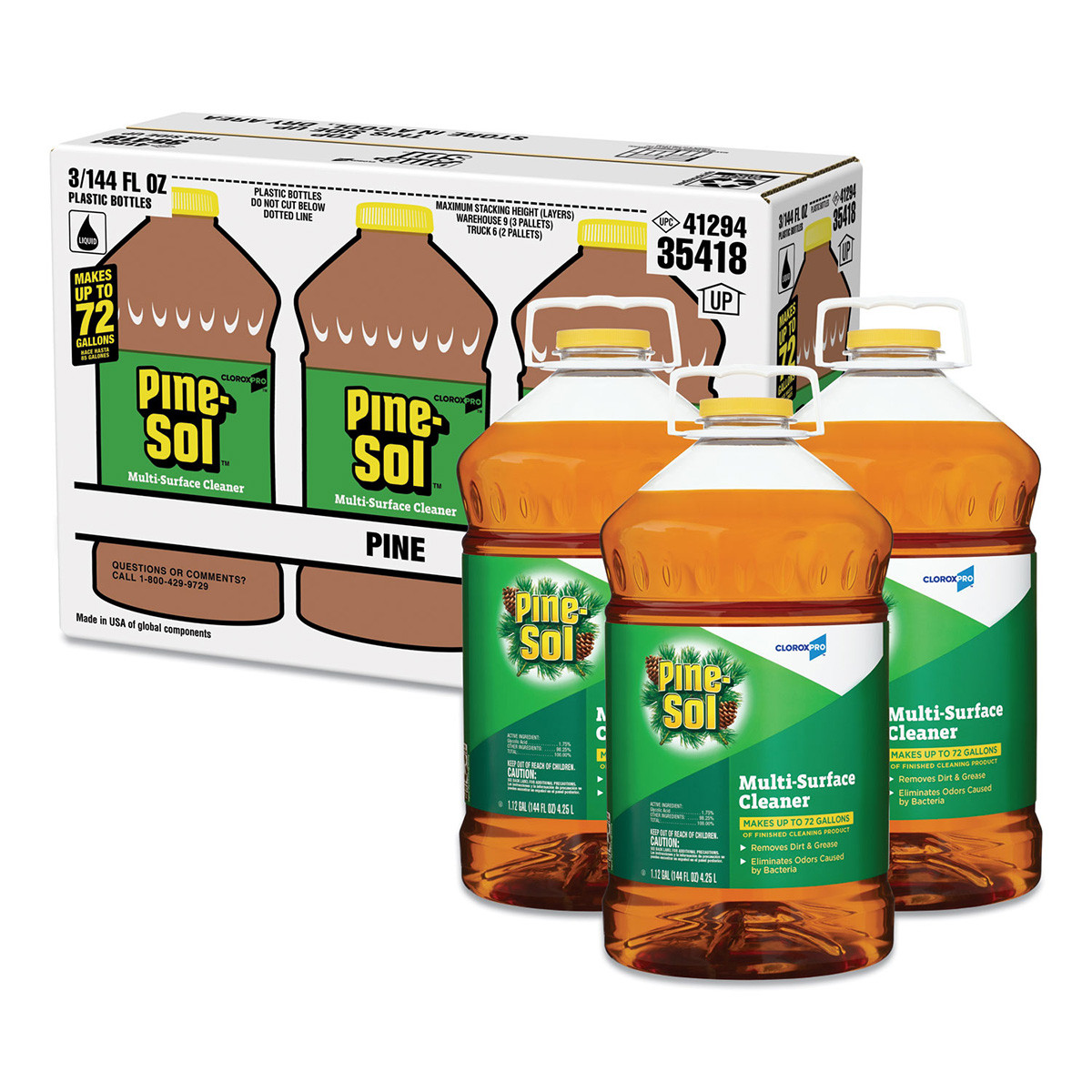 Pine Sol 174 Pine Scent Concentrated Multi Surface Cleaner