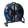 Xpower® #X-48ATR High Temp Sealed Motor Axial Fan w/ Built-In Power Outlets & 3-Hour Timer (1/3 HP) - 3,600 CFM