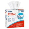 KC WypAll® X60 White Disposable Wipes in a Box (#34790) - Case of 1260