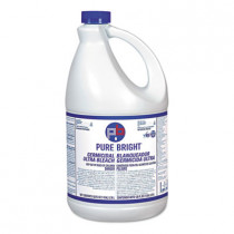 Pure Bright Germicidal Liquid Bleach (1 Gallon Bottles) - Case of 6