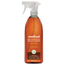 Daily Wood Cleaner, Almond Scent, 28 Oz Spray Bottle