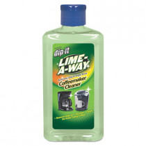 LIME-A-WAY® Dip-It Automatic Drip & Single Serve Coffeemaker Descaler & Cleaner (1 oz. Bottles) - Case of 8
