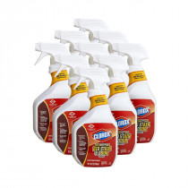 Clorox Disinfecting Bio Stain and Odor Remover - Case of 9 Spray Bottles