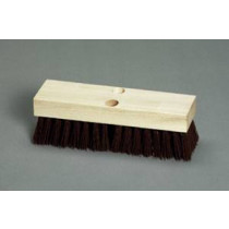 Wood Block Deck Scrub Brush