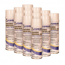 Ashburn Chemical Foaming Germicidal AQD Cleaner, Deodorant & Disinfectant - Case of 12