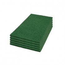 12 x 18 Green Square Scrub Pads