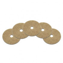 """24"""" CocoPad® Coconut Scented Natural High Speed Floor Polishing Pads - Case of 5"""