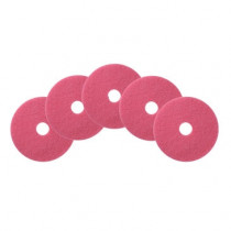 "Case of Flamingo Auto Scrubber Floor Cleaning Pads - Round (12"" - 20"")"