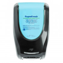 Nyco® Black Duo Hands Free Hand Sanitizer & Soap Dispenser (1 Liter)