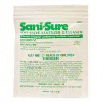 Sani-Sure Soft-Serve Equipment Sanitizer