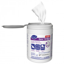 """Diversey™ Oxivir® Tb EPA Registered Disinfectant Wipes (6"""" x 6.9""""   160 Wipe Canisters) - Case of 12"""