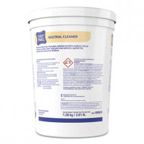 Neutral Cleaner, .5oz Packet, 90/tub, 2 Tubs/carton