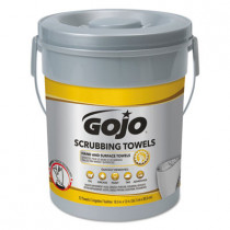 Scrubbing Towels, Hand Cleaning, Fresh Citrus,10 1/2x12 1/4, 72/canister,6/crtn