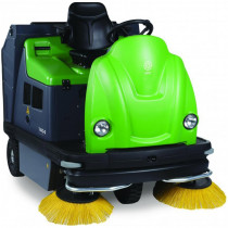 Outdoor Gas Powered Ride On Sweeper