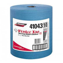 WYPALL X80 Blue Hand Towels in a Roll - #41043
