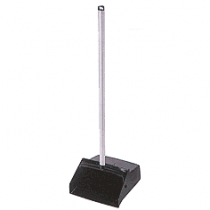 Rubbermaid® Lobby Pro® Upright Dustpan w/ Wheels (Black)