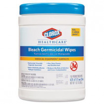 Case of Clorox Healthcare Bleach Germicidal Wipes
