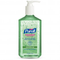 Pump Bottle of Purell Hand Sanitizer with Aloe