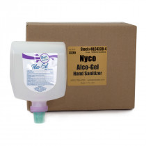 Nyco® 'Alco-Gel' 70% Alcohol Hand Sanitizer (1 Liter Bottles) - Case of 4