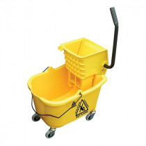 Side Press Mop Bucket & Wringer Combo