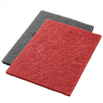 Red Twister™ Diamond Concrete Prep Pads - 400 Grit - Rectangular
