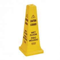 Rubbermaid Caution Slippery Floor Cone