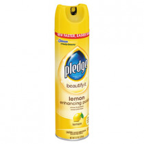 Pledge Aerosol Lemon Furniture Polish