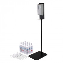 Hands-Free Hand Sanitizer, Stand & Dispenser Combo
