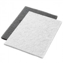 White Twister™ Diamond Concrete Prep Pads - 800 Grit - Rectangular