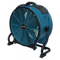 Xpower® #X-47ATR Industrial Sealed Motor Axial Air Mover w/ Built-In Power Outlets & 3-Hour Timer (1/3 HP) - 3,600 CFM