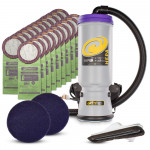 ProTeam® Super CoachVac Backpack Vacuum Package