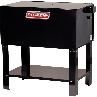 Closed Front View Stationary Parts Washer Bin