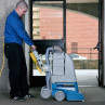 EDIC Polaris 701PS Carpet Scrubber In Use