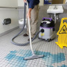 ProTeam® ProGuard™ HEPA Critical Filter Wet/Dry Vacuum - in Use
